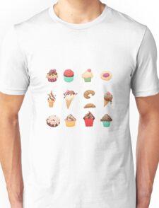 Desserts Unisex T-Shirt