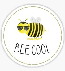 Bee Cool Sticker