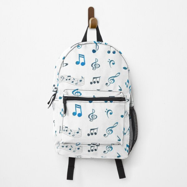 Royal Blue Music Note Collection Backpack