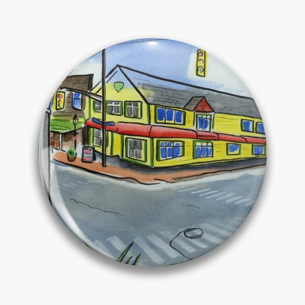 Rosie's Restaurant Kentville Nova Scotia Webster and Aberdeen Street Pin
