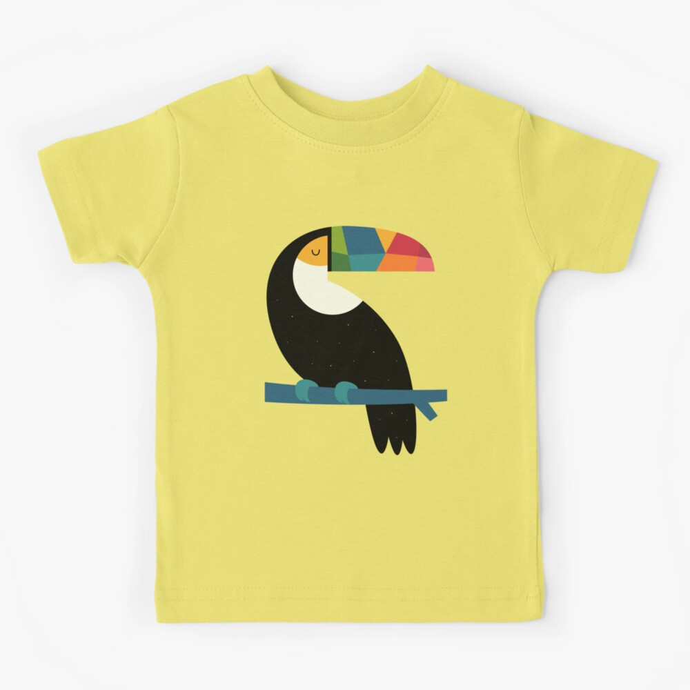 Rainbow Toucan Kids T-Shirt