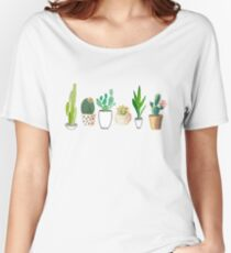 POTTED CACTI Women's Relaxed Fit T-Shirt