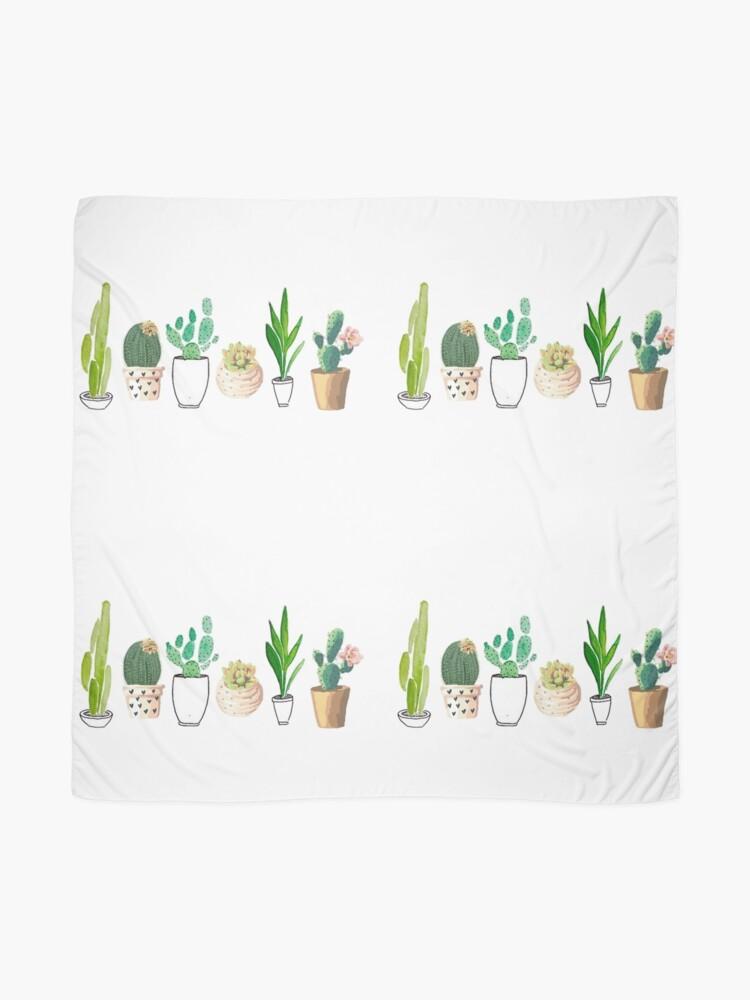 Alternative Ansicht von Potted Cacti Tuch