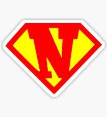 Super N Sticker