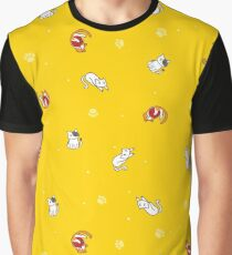 cats playing Graphic T-Shirt