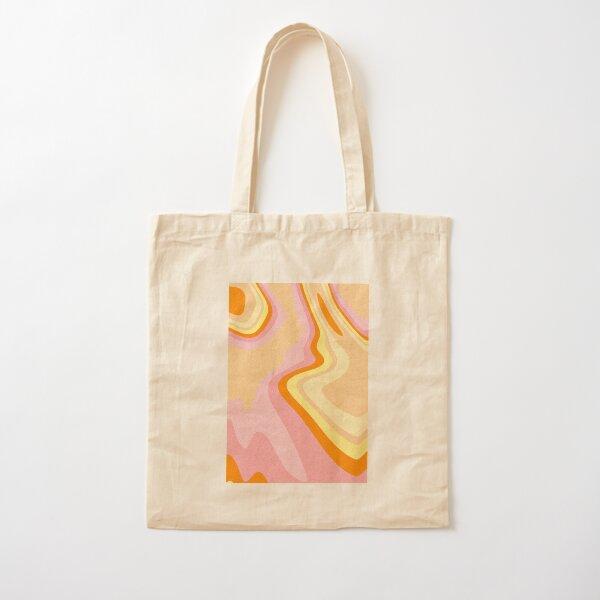Diseño retro de los años 70 Bolsa de algodón