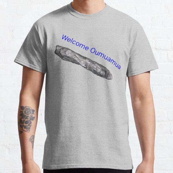 Oumuamua, space, space ship, alien, aliens, rock, space rock, Classic T-Shirt