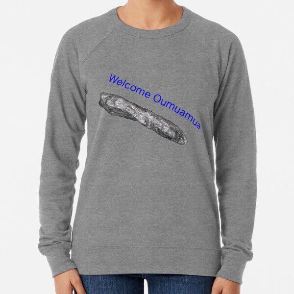 Oumuamua, space, space ship, alien, aliens, rock, space rock, Lightweight Sweatshirt
