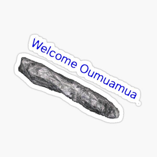 Oumuamua, space, space ship, alien, aliens, rock, space rock, Sticker