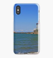 Fairport Harbor West Breakwater  iPhone Case/Skin