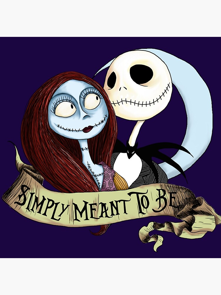 Jake And Sally Nightmare Before Christmas Love