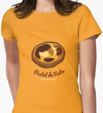 Pastel de Nata Women's Fitted T-Shirt