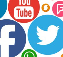 social networks logos redes sociales Sticker