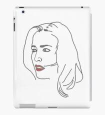 Gillian Anderson Sketch iPad Case/Skin
