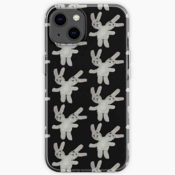 two-headed bunny iPhone Soft Case