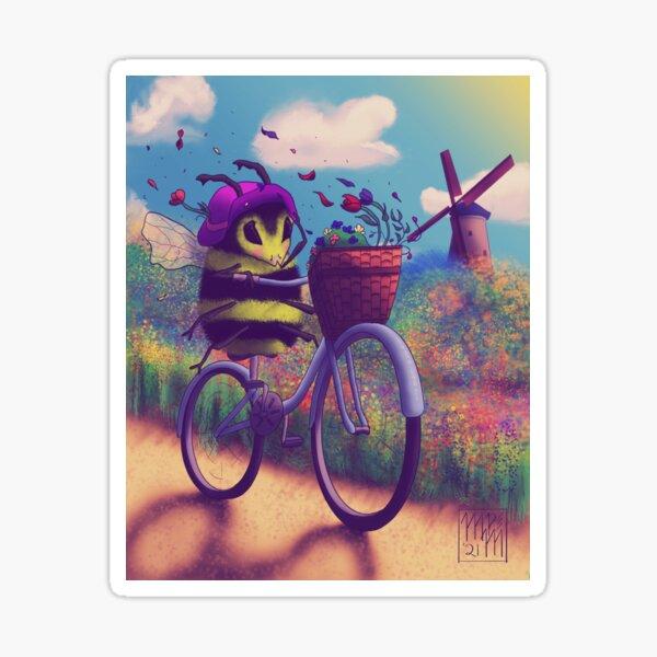 Bumblebee Bikeride Sticker