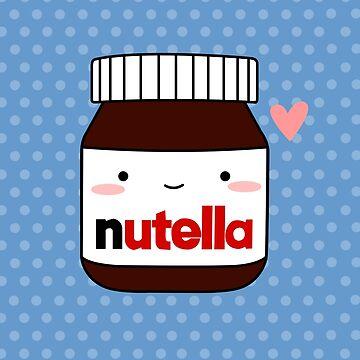 Cute Nutella jar by cafebunny