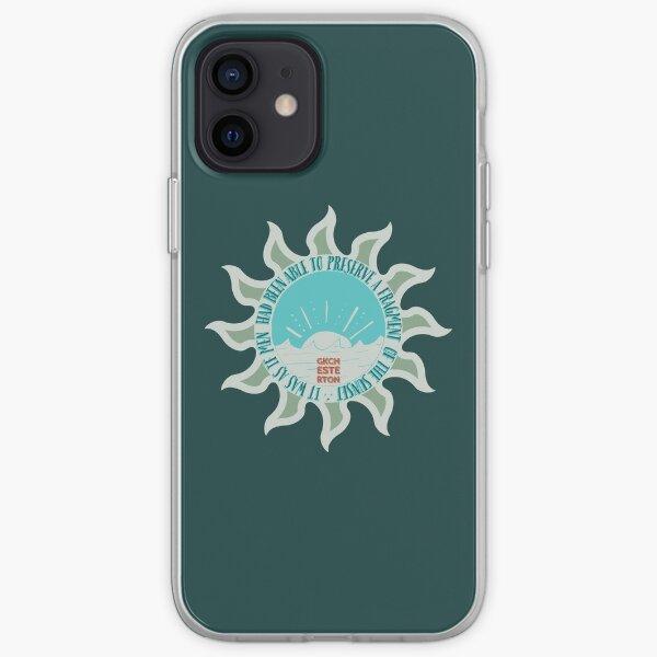 Captured Sunsets  - GKChesterton SlateOlive iPhone Soft Case