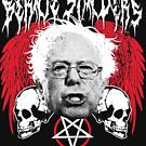 FEEL THE BERN Heavy Metal Bernie Sanders Shirt by maggiemaemary