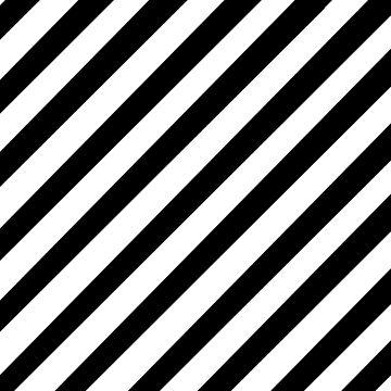 Diagonal stripes by Shosetsu