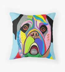 Mastiff Throw Pillow