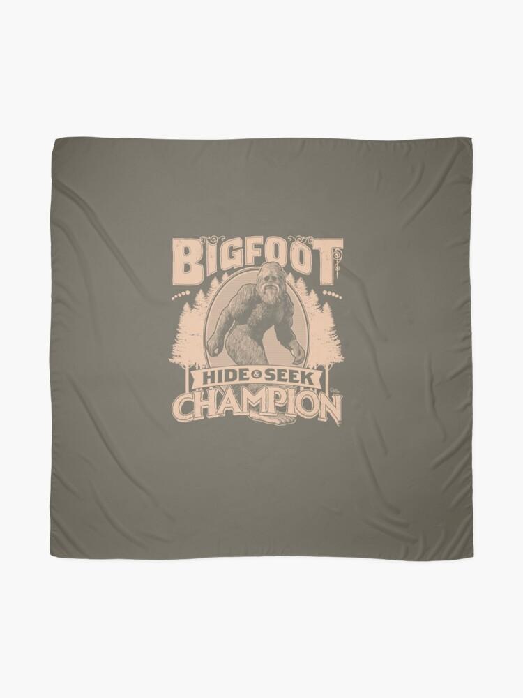 Alternate view of Bigfoot - Hide & Seek Champion Scarf