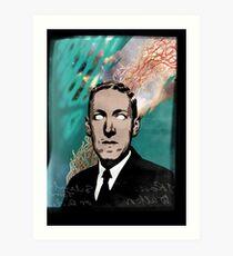 HP Lovecraft Art Print