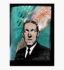 HP Lovecraft Photographic Print