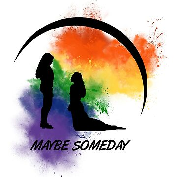 Clexa - Maybe Someday In Color by jaythegreenling