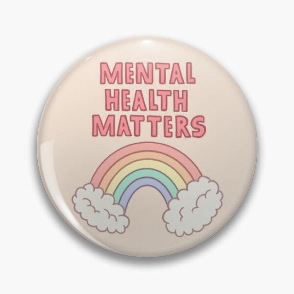 Self Care Self Love Club Pin Badge Wellbeing Mental Health