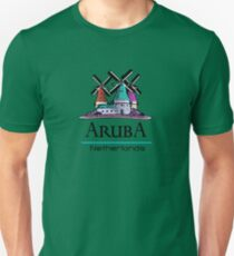 Aruba, The Netherlands Antilles Unisex T-Shirt