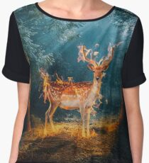 The Deer Women's Chiffon Top