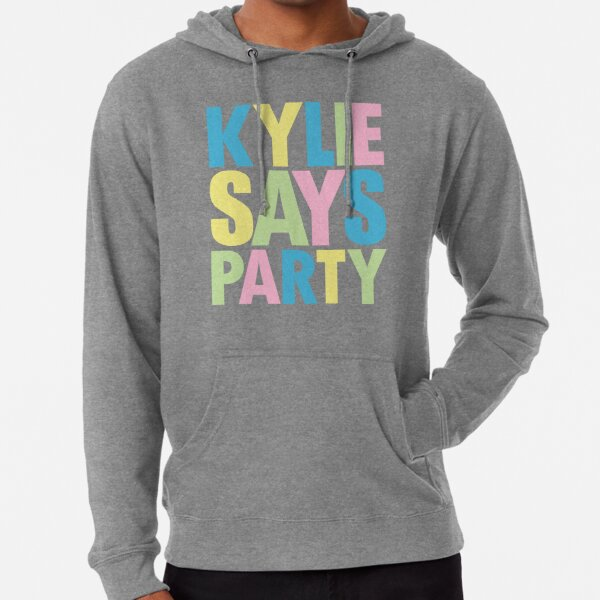 Kylie Minogue - Kylie Says Party Lightweight Hoodie