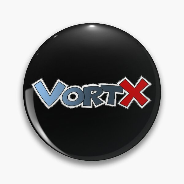 VortX Productions Logo Pin