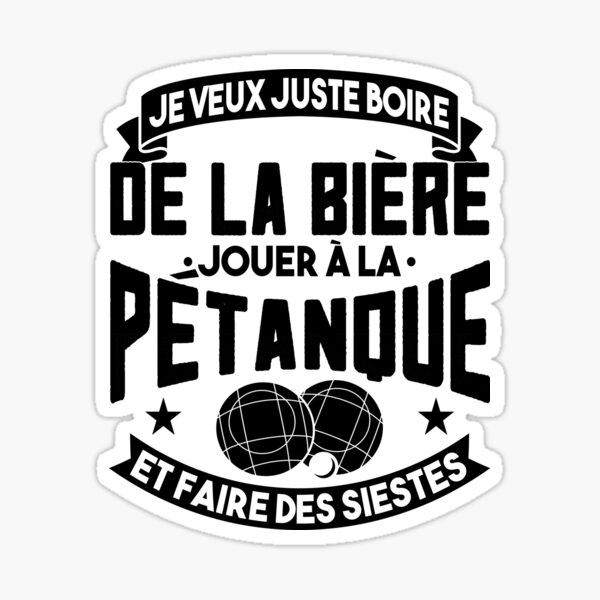 Petanque Cadeau Sticker