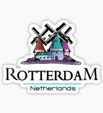 Rotterdam, The Netherlands Sticker