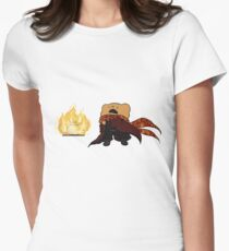 Fire Magic Ber Casts Coffee 1!  Women's Fitted T-Shirt