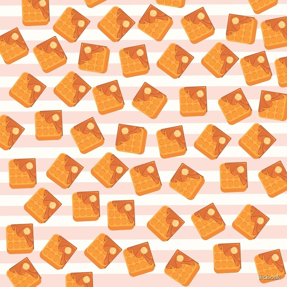 Waffle Pattern by ilicisoak