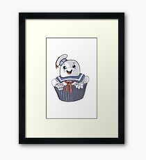 Stay Puft Cupcake Framed Print