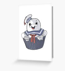 Stay Puft Cupcake Greeting Card
