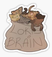 Loki's Brain Sticker