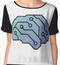 Brain 2.0 Chiffon Top