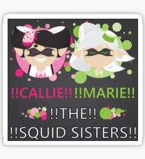 Squid Sisters Poster (English) Sticker