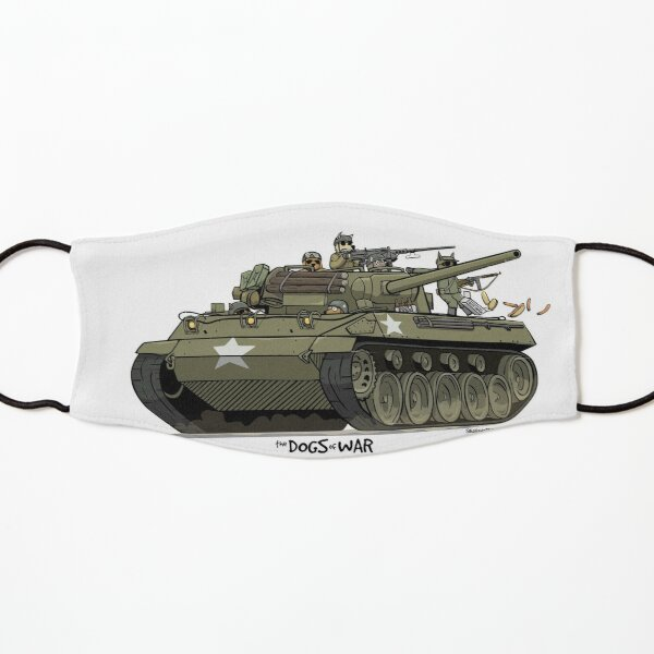 The Dogs of War: M18 Hellcat Kids Mask
