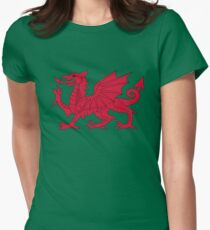 Wales Womens Fitted T-Shirt