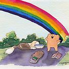The Best Ber Rainbow Dog! by thebestber