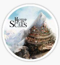 Fantasy city Sticker