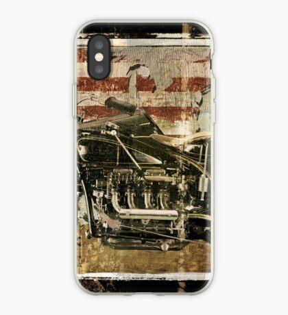Road Warrior Vintage Motorcycle Unbound iPhone Case