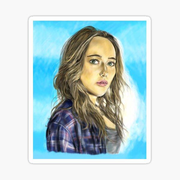 Alicia Clark Sticker