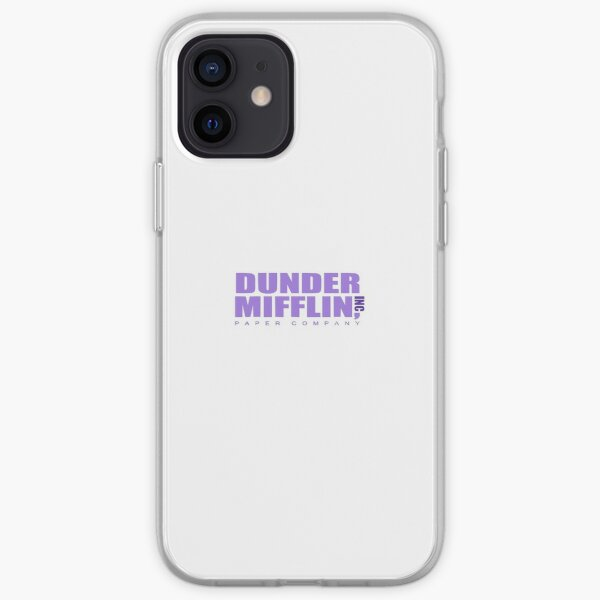Dunder Mifflin Inc Paper Company the Office iPhone Soft Case